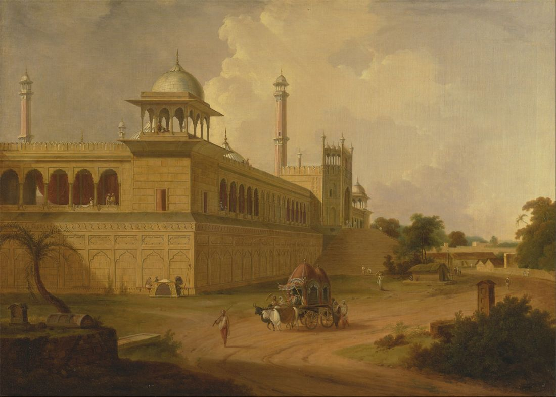 """Jami Masjid, Delhi."" 1811."