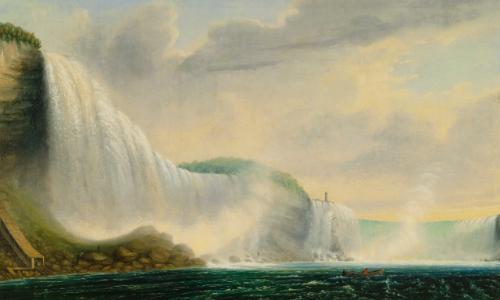 """""""Niagara Falls."""" No date."""