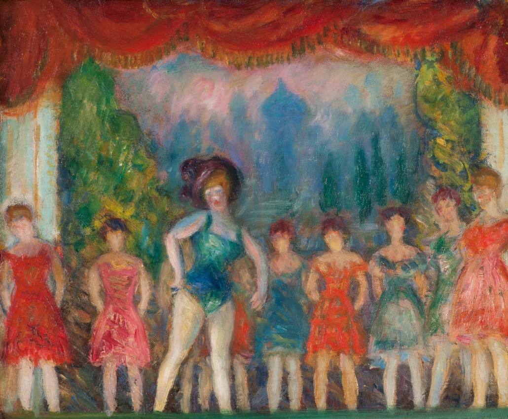 """""""Music Hall Turn."""" ca. 1918."""