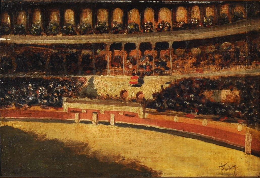 """Before the Bullfight."" ca. 1871."