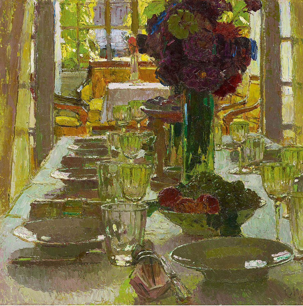 """Speisezimmer I"" (Dining Room I). Before 1939."