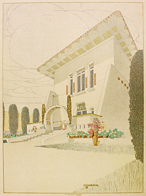 Design for a villa. No date.