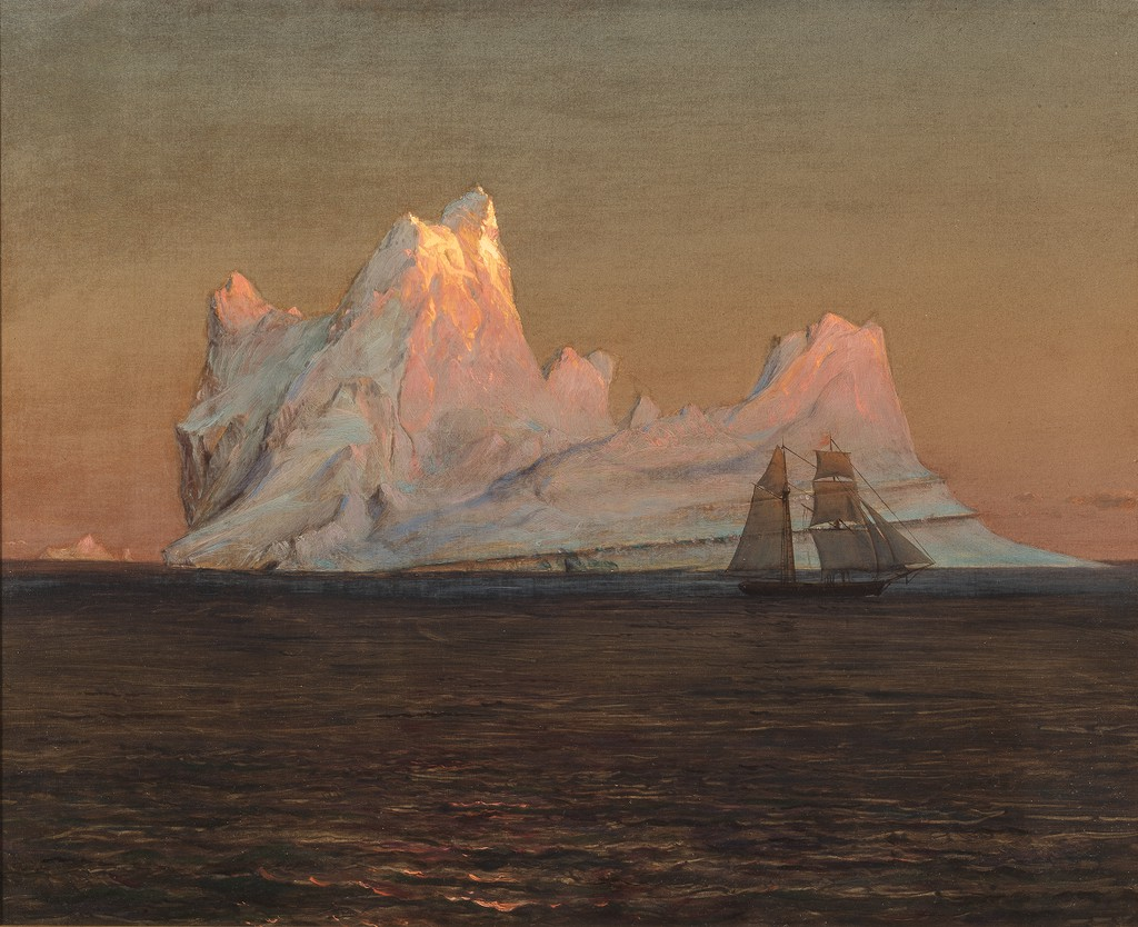 """The Iceberg."" ca. 1875."
