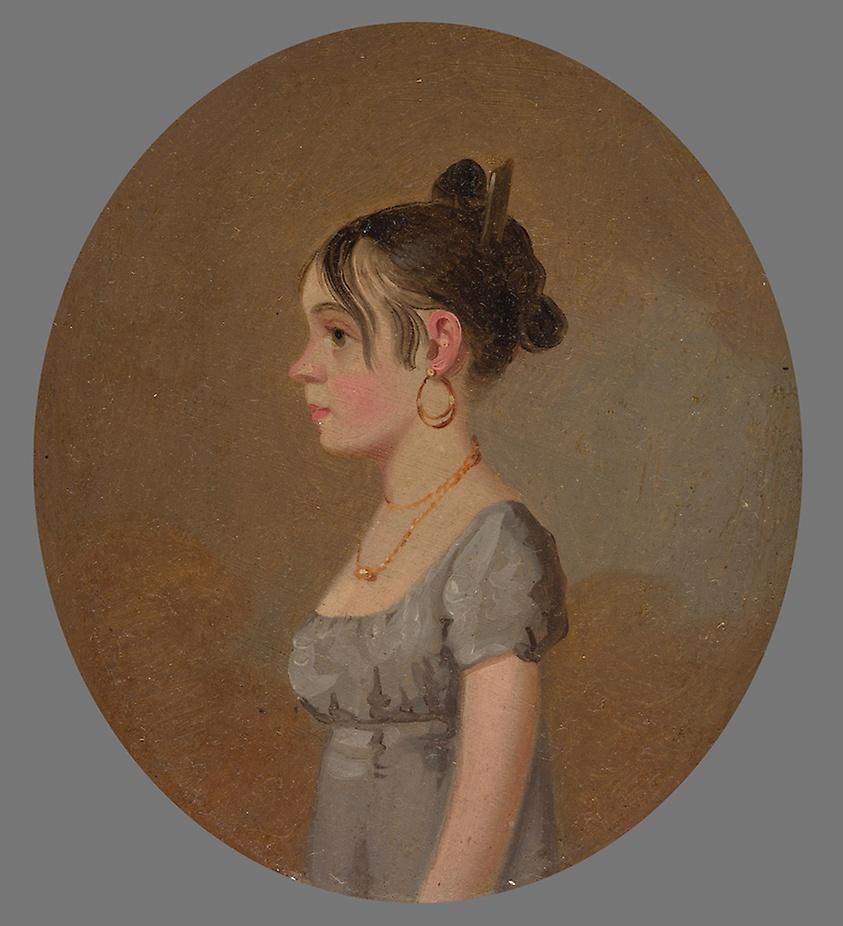 """Miss Schaum."" 1808-1810."