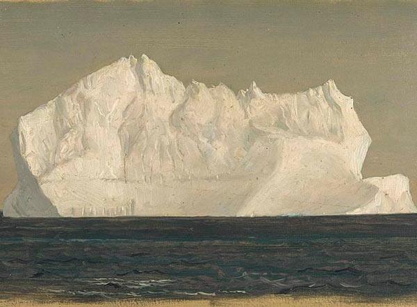"""""""Floating Iceberg."""" 1859."""