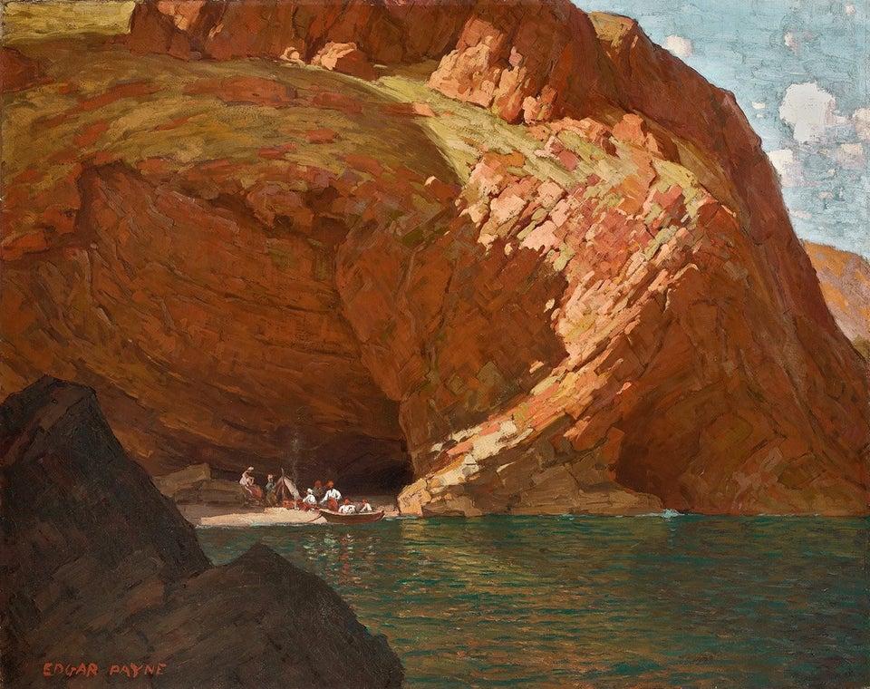 """The Rendezvous (Santa Cruz Island, CA)."" 1915."