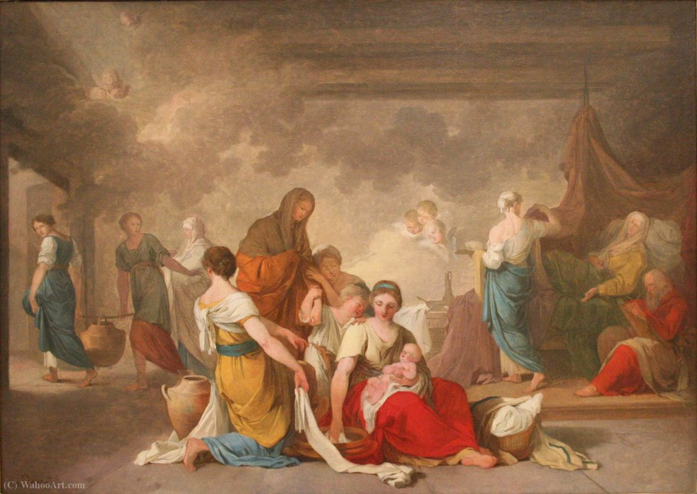 """Birth of the Virgin."" ca. 1778. Sketch."