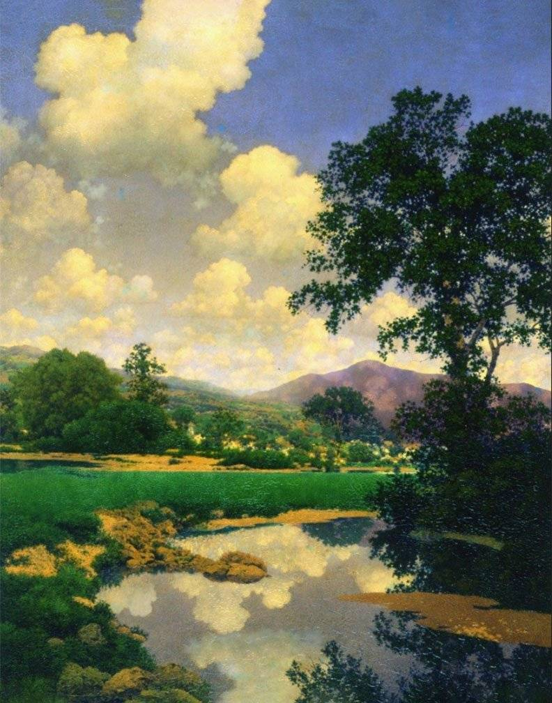 """June Skies."" No date."