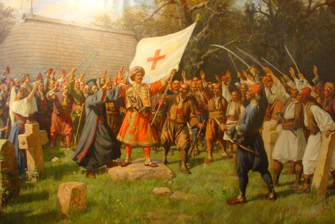 """""""Takovo Uprising."""" 1898."""