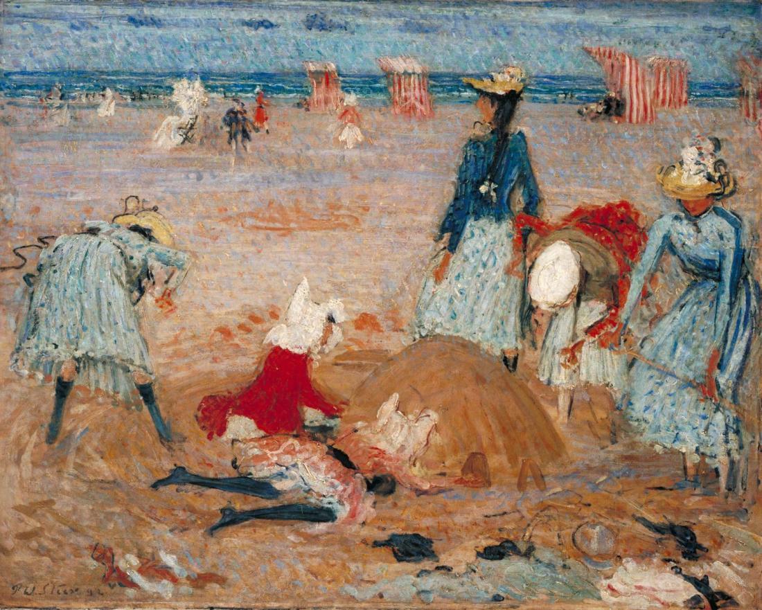 """""""Boulogne Sands."""" 1888-91."""