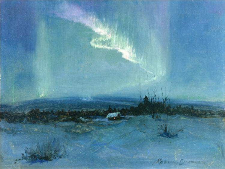 """Northern Lights."" No date."