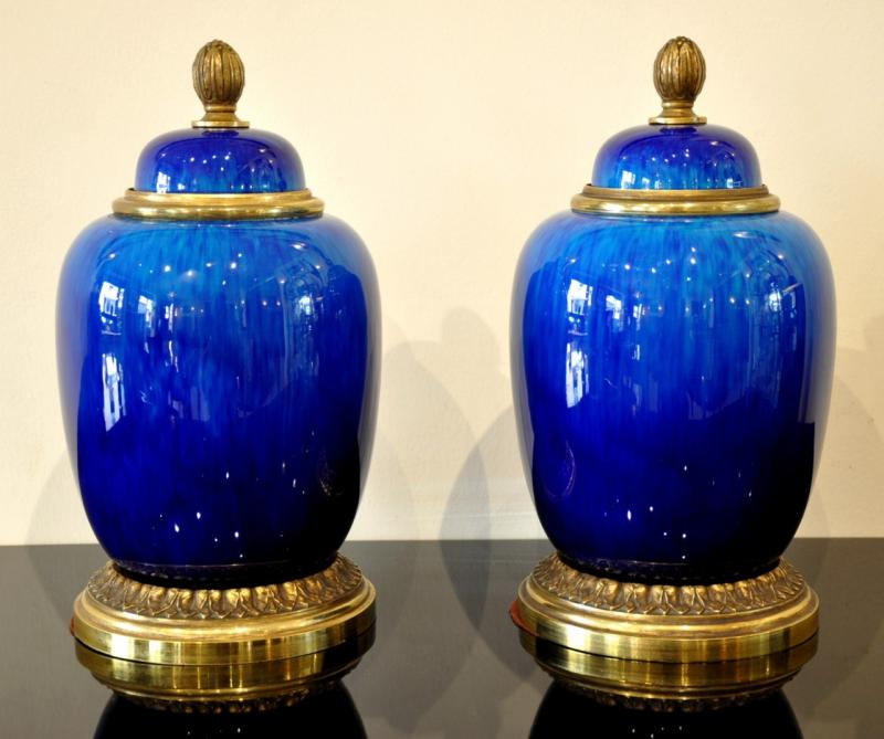 Pair of vases or pots.