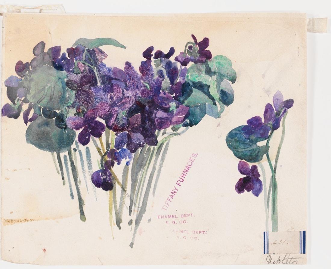 """""""Violets."""" 1898-1902."""