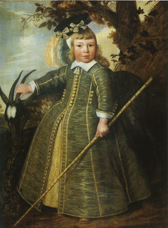 """Four-Year-Old Boy with Goat."" 1652."