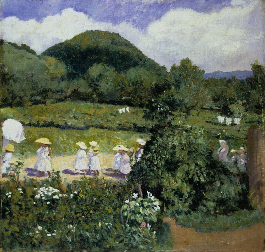 """""""Summertime."""" 1906."""