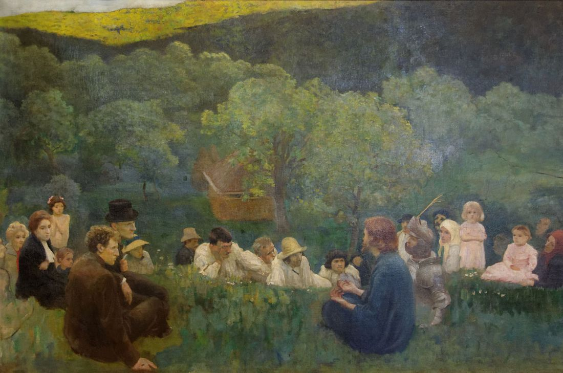 """The Sermon on the Mount."" 1896."