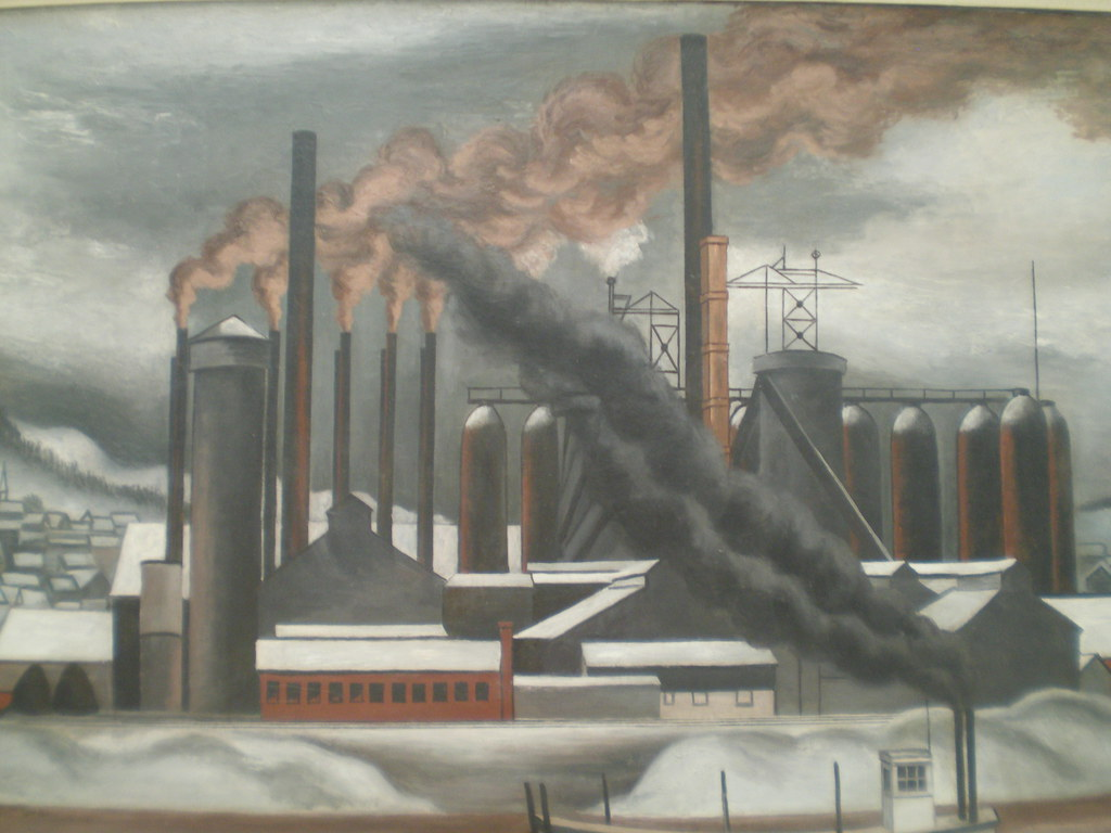 """""""The Lucy Plant, Carnegie Steel."""" 1930's."""