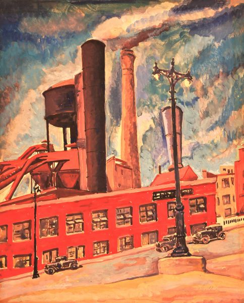Untitled (factory). ca. 1930's.