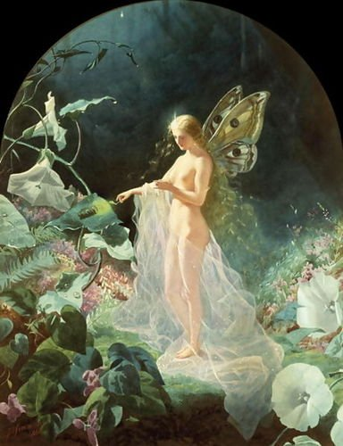 """Titania."" 1866."