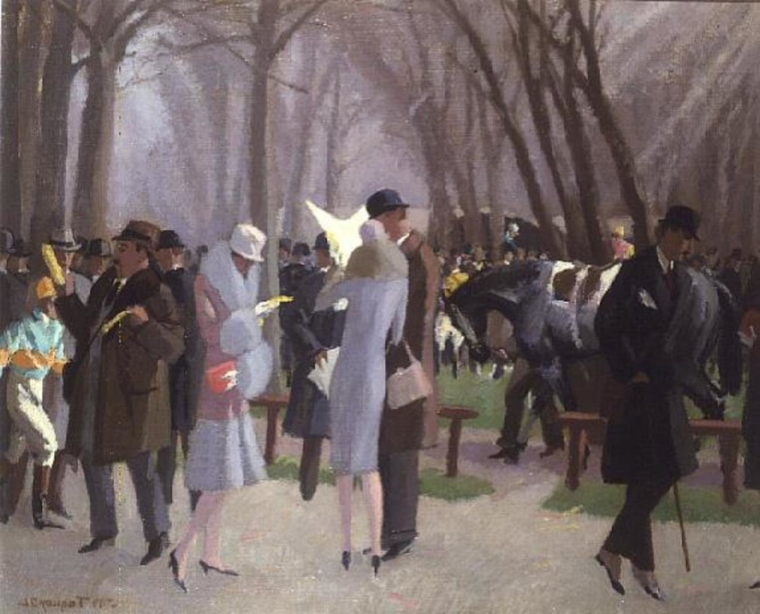 """""""A Day at the Races."""" 1926."""
