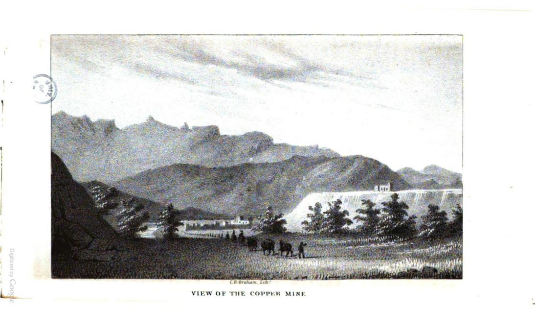 """View of the Copper Mine."" Page 74."