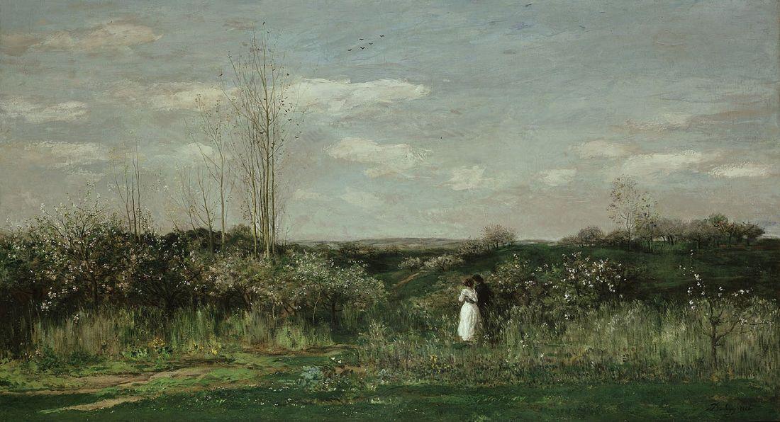 Spring Landscape. 1862.