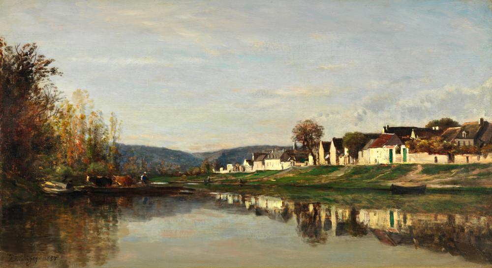 Landscape. 19th c.