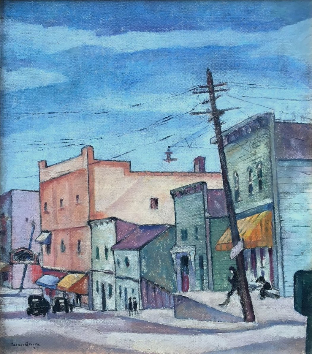 Untitled street scene. 1927.