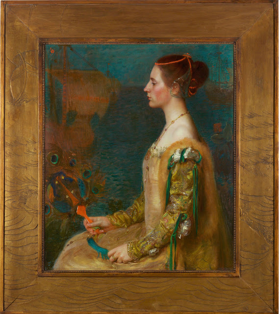 """Woman with a Fan."" 1895."