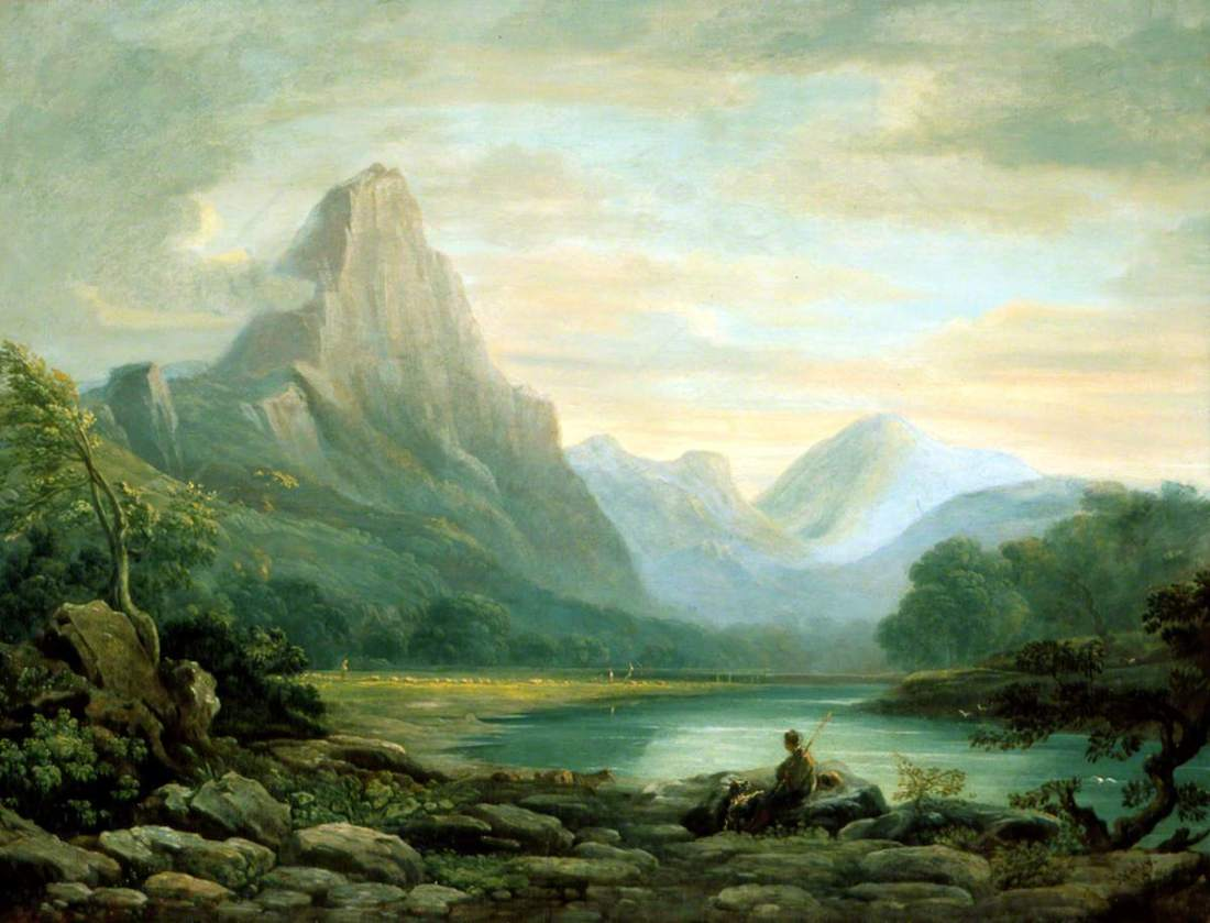 """A Welsh Valley."" 1819."