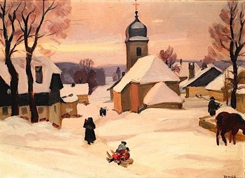 jules-emile-zingg-paysage-de-neige