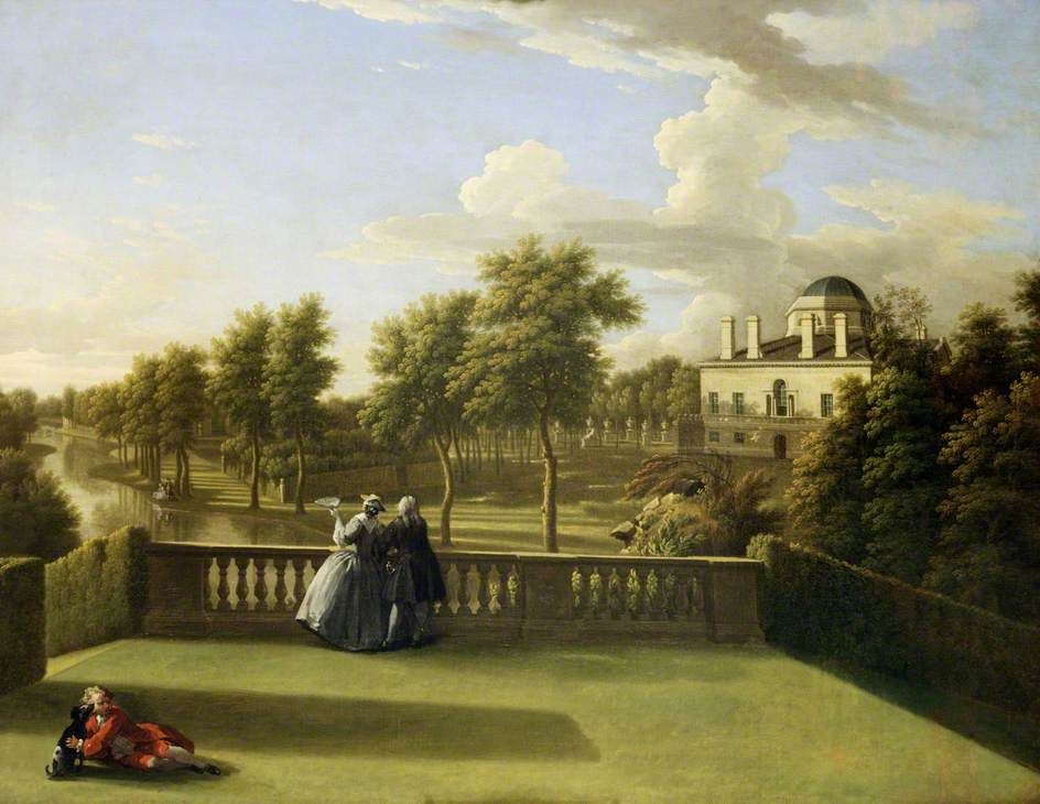 """Chiswick House, Middlesex."" ca. 1742."