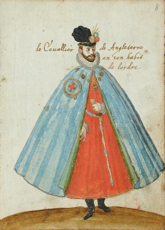 """""""Le conseiller de Angleterre a son habit de lordre."""" Image #8."""