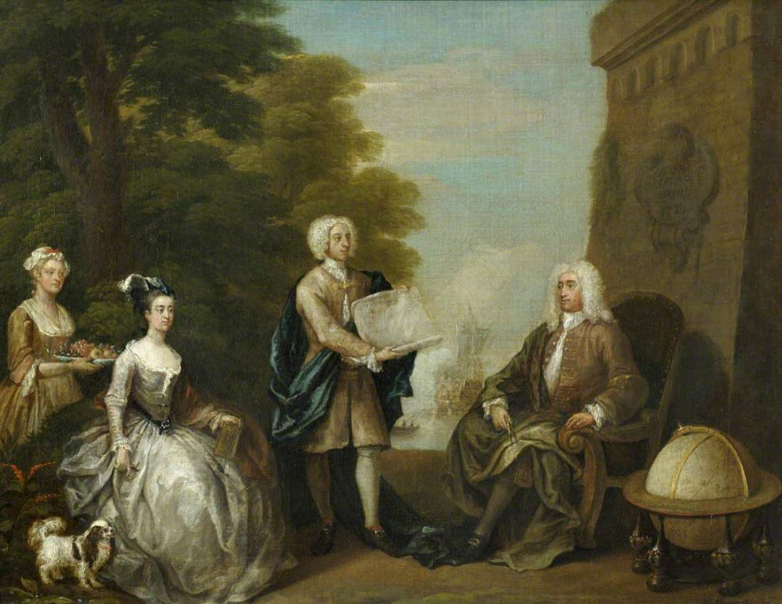 Woodes Rogers (c.1679–1732), and his Family.