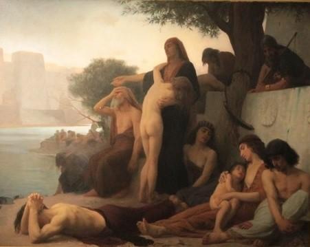 """""""La captivité des juifs à Babylone."""" 1873."""
