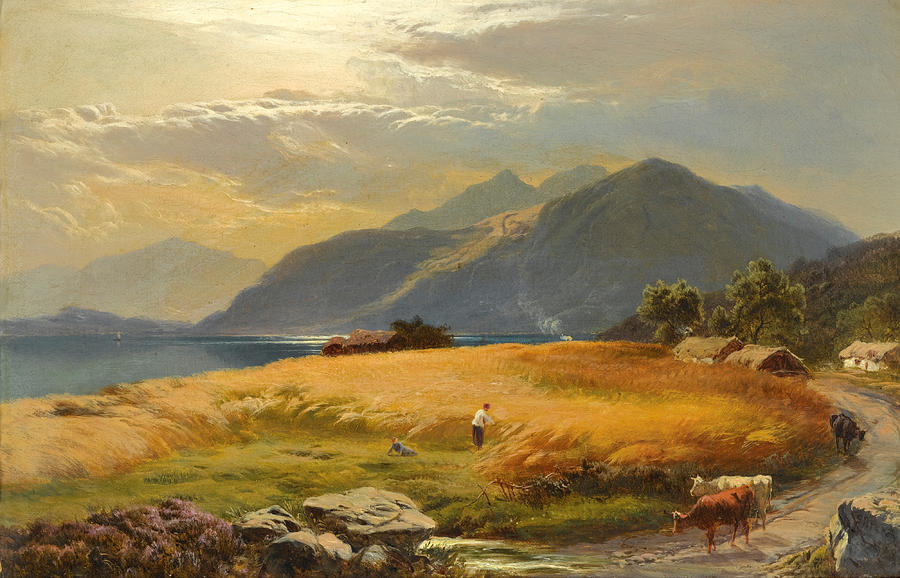 """The Highland Loch."" No date."