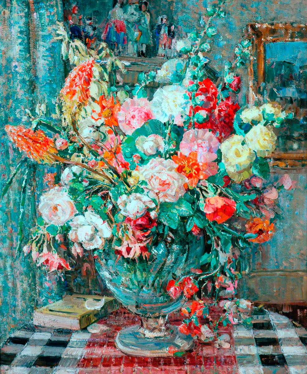 """""""Flowers in a Vase."""" No date."""