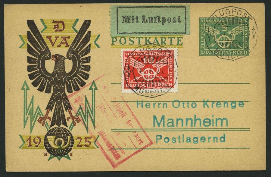 Postkarte. 1925.
