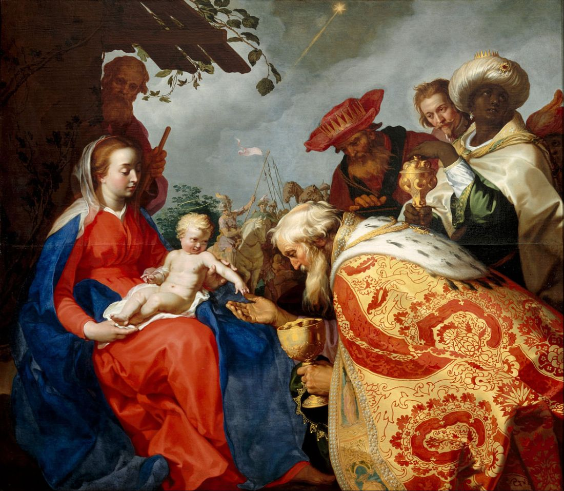 """The Adoration of the Magi."" 1624."