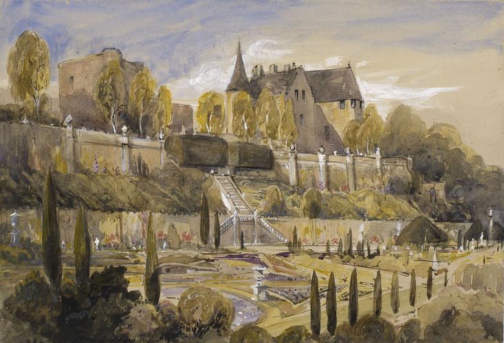 """Drummond Castle."" 1849."