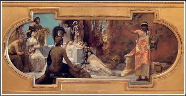 """""""L'Aède"""" (étude). 1886-87."""
