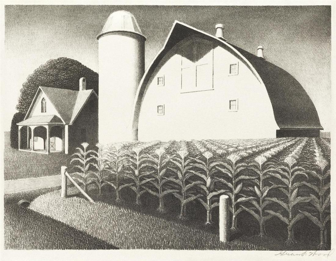 """Fertility."" 1939. Lithograph."