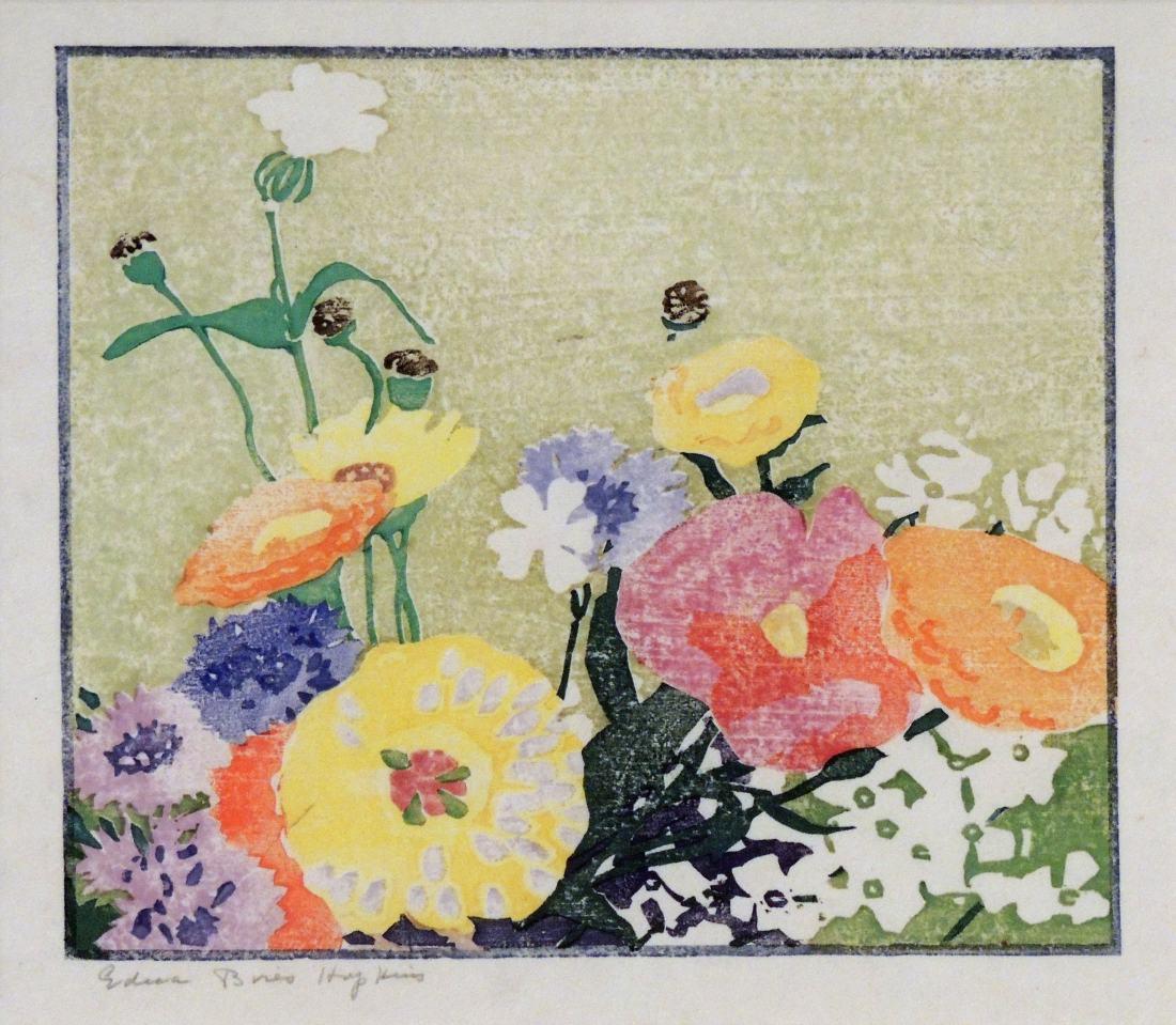 """Garden Flowers (Poppies)."" 1915."