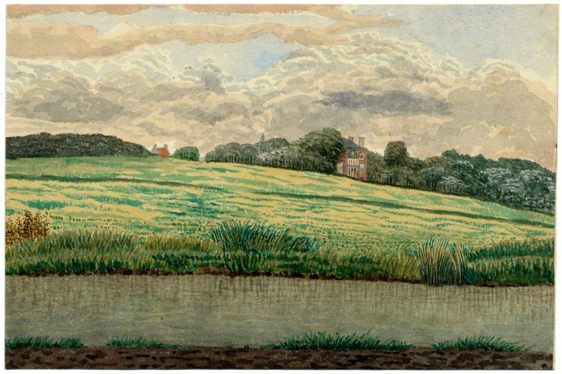 A Landscape. Late 19th c.