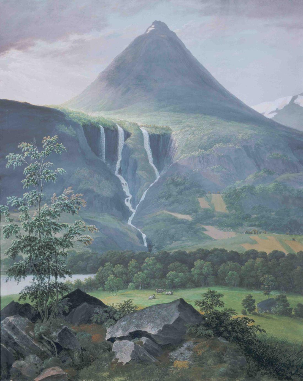 """Myrhorn, Norway."" ca. 1840."