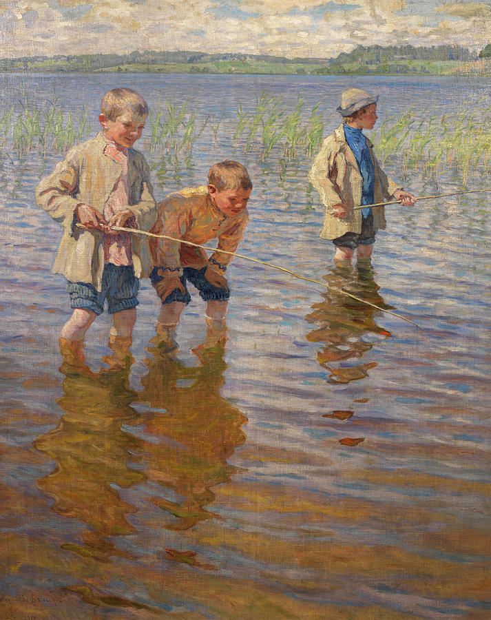 """""""Mid-day Fishing."""" No exact date."""