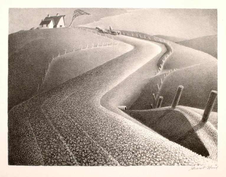 """March."" 1939. Lithograph."