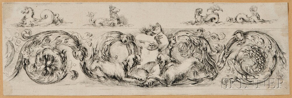 stefano-della-bella-italian-1610-1664-frieze-with-a-child-and-two-dogs (1)