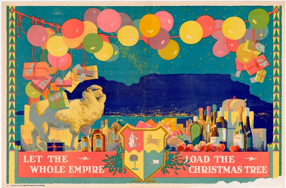 """Let The Whole Empire Load The Christmas Tree."" 1927-1933."