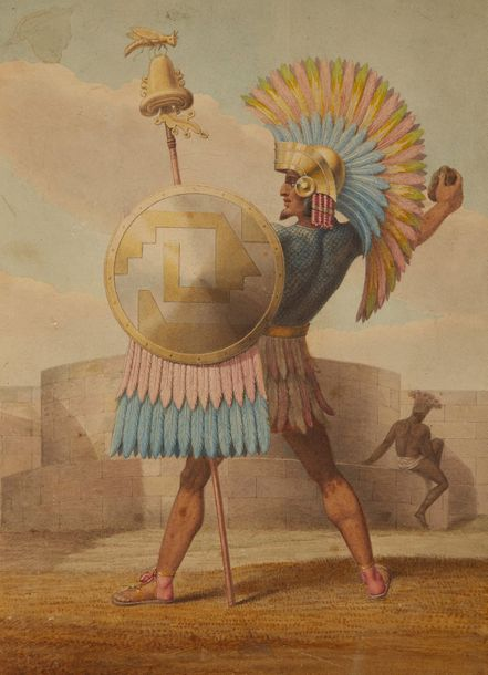 """Mexican general in of the time of Montezuma, 1508."""